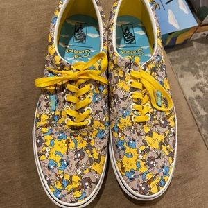 Simpsons Vans- itchy & Scratchy